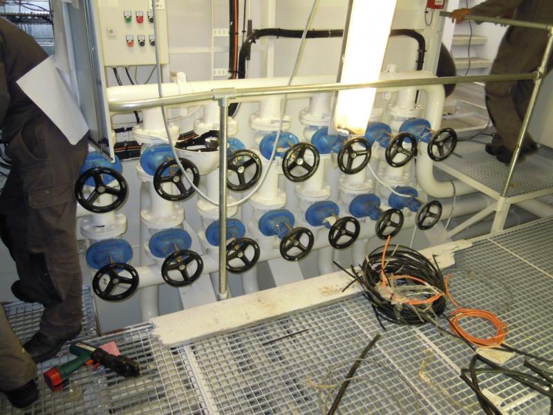 Inbouw machinekamers